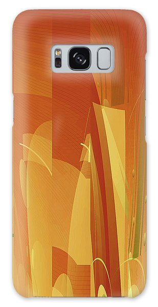 Abstract No 34 Galaxy Case by Robert G Kernodle