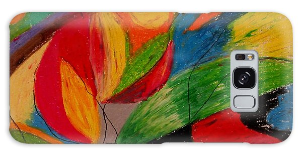 Abstract No. 5 Springtime Galaxy Case by Maria  Disley