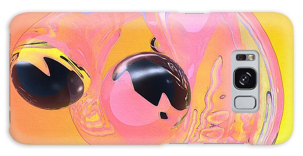 Abstract Number 5 Galaxy Case by Peter J Sucy