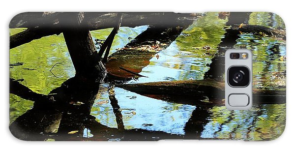 Abstract Of St Croix River 03 Galaxy Case