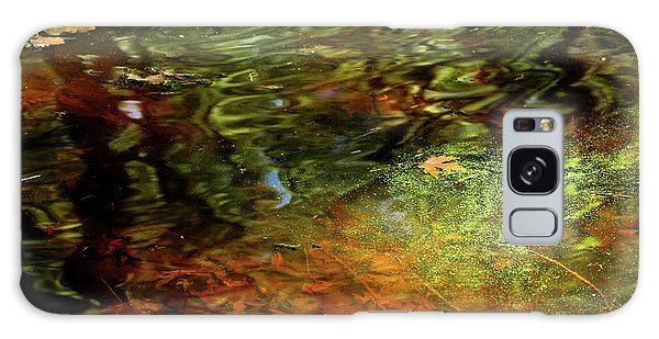 Abstract Of St Croix River 04 Galaxy Case by Jimmy Ostgard