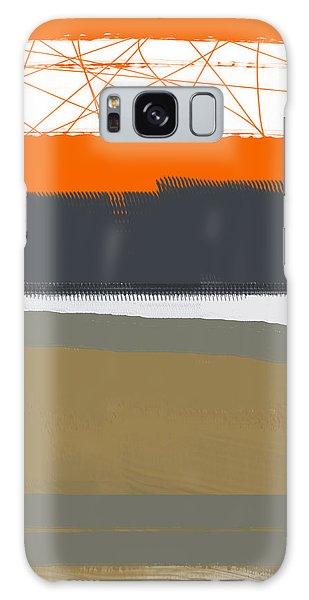 Form Galaxy Case - Abstract Orange 1 by Naxart Studio