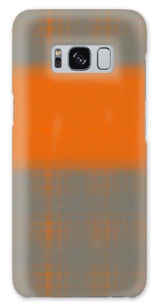 Form Galaxy Case - Abstract Orange 3 by Naxart Studio