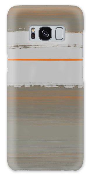 Form Galaxy Case - Abstract Orange 4 by Naxart Studio