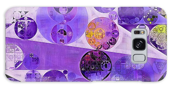 Abstract Painting - Blackcurrant Galaxy Case