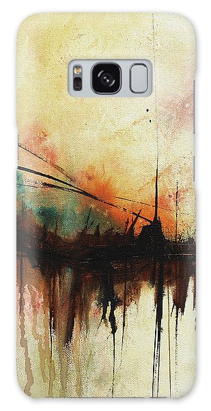 Abstract Painting Contemporary Art Galaxy Case