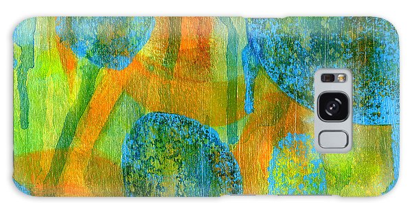 Abstract Painting No. 1 Galaxy Case