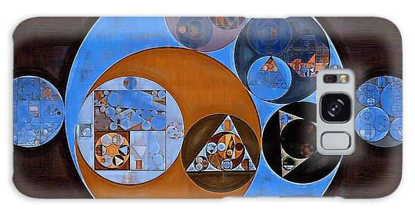 Abstract Painting - Rock Blue Galaxy Case by Vitaliy Gladkiy