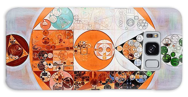 Abstract Painting - Silver Galaxy Case by Vitaliy Gladkiy