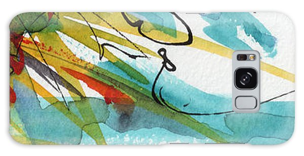 Abstract Panorama Intuitive Art Galaxy Case