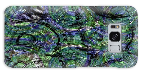 Abstract Pattern 5 Galaxy Case by Jean Bernard Roussilhe