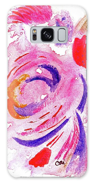 Abstract Pink Galaxy Case