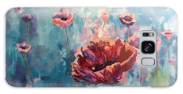 Abstract Poppy Galaxy Case