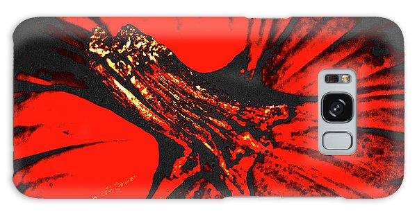 Abstract Pumpkin Stem Galaxy Case
