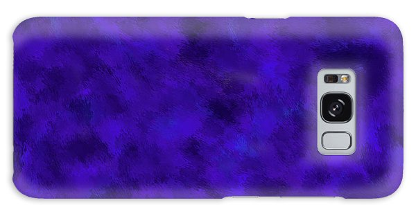 Galaxy Case featuring the photograph Abstract Purple 7 by Clare Bambers