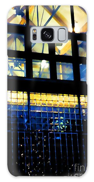 Abstract Reflections Digital Art #5 Galaxy Case