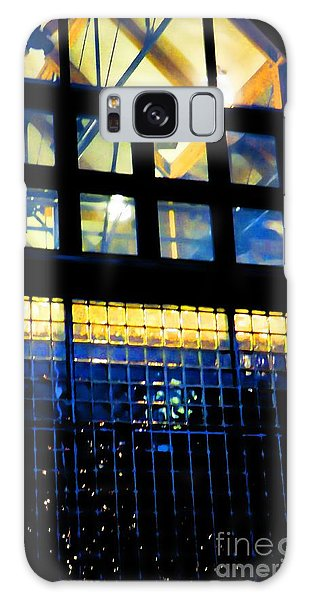 Abstract Reflections Digital Art #5 Galaxy Case