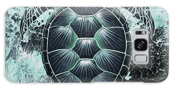 Abstract Sea Turtle Galaxy Case
