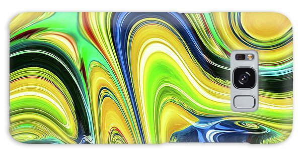 Abstract Series 153240 Galaxy Case