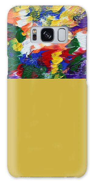 Abstract Series A1015ap Galaxy Case