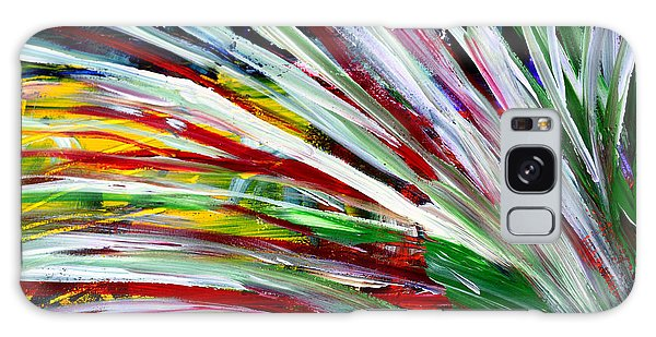 Abstract Series C1015cl Galaxy Case