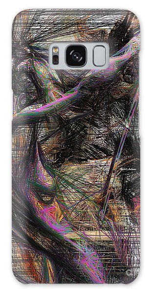 Abstract Sketch 1334 Galaxy Case