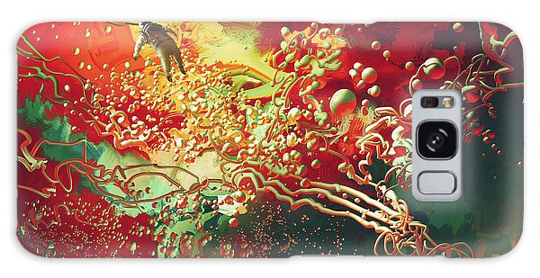 Abstract Space Galaxy Case