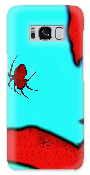 Abstract Spider Galaxy Case