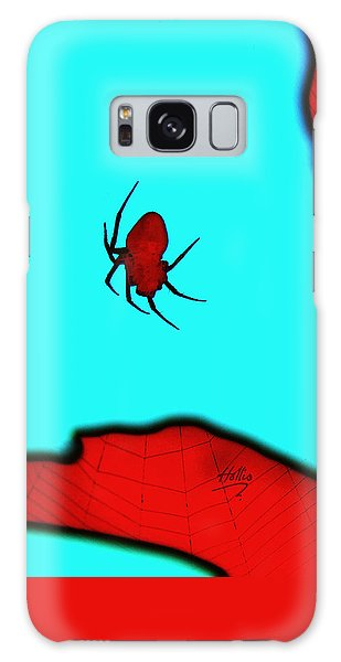 Abstract Spider Galaxy Case by Linda Hollis