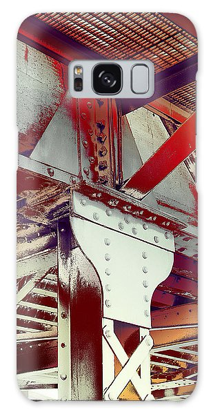 Galaxy Case featuring the photograph Grunge Steel Beam by Robert G Kernodle