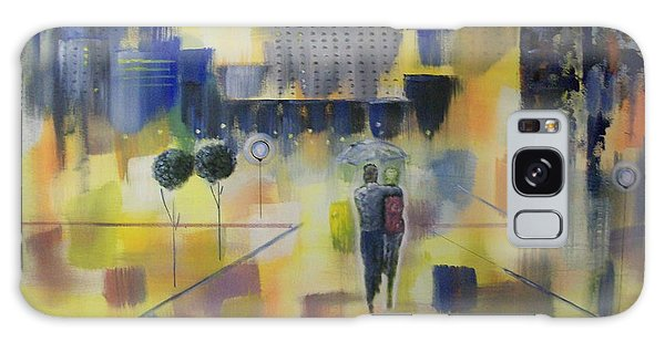 Abstract Stroll Galaxy Case by Raymond Doward
