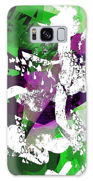 Abstract Summer Garden Galaxy Case
