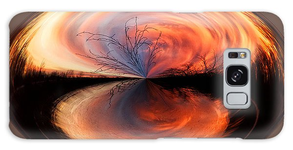 Abstract Sunrise Galaxy Case