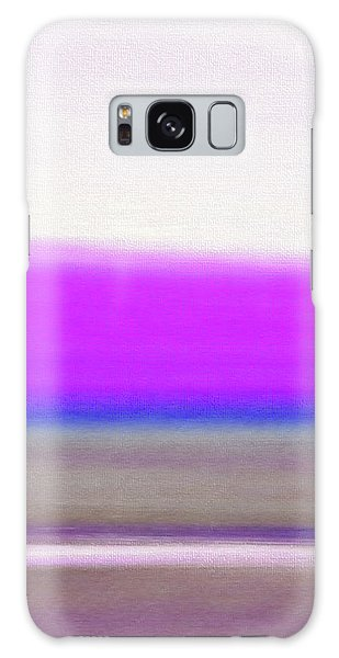Abstract Sunset 65 Galaxy Case