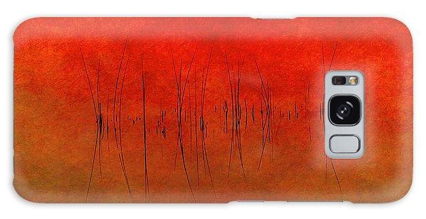 Abstract Sunset  Galaxy Case by Andrea Kollo