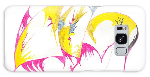 Abstract Swan Galaxy Case