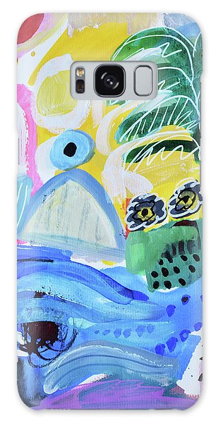 Abstract Tropical Landscape Galaxy Case