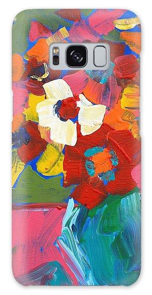 Abstract Vase Galaxy Case