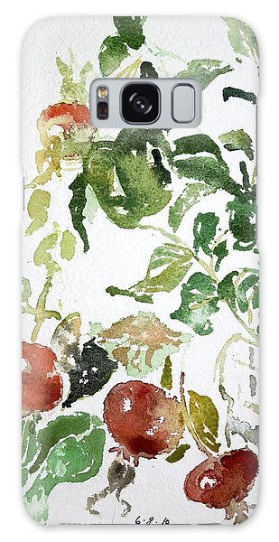 Abstract Vegetables Galaxy Case
