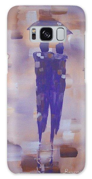 Abstract Walk In The Rain Galaxy Case by Raymond Doward