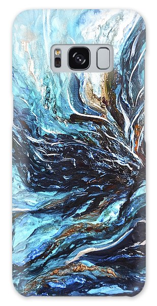 Abstract Water Dragon Galaxy Case