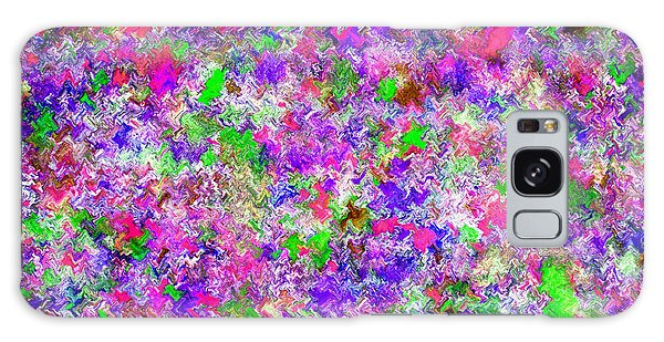 Galaxy Case featuring the painting Abstract Watercolor A22416 by Mas Art Studio