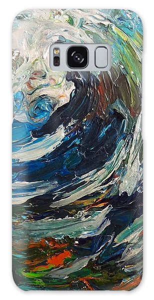 Abstract Wild Wave  Galaxy Case