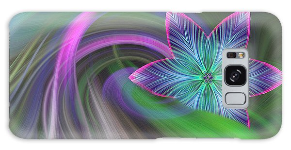 Abstract With Star Galaxy Case by Linda Phelps