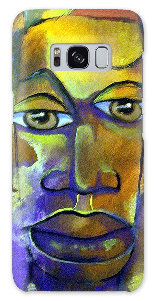 Abstract Young Man Galaxy Case by Raymond Doward