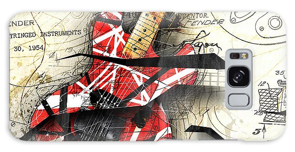 Guitar Galaxy Case - Abstracta 35 Eddie's Guitar by Gary Bodnar