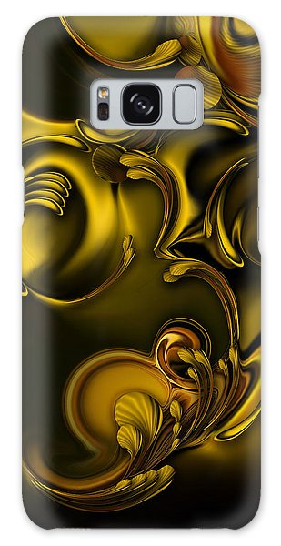 Abstraction With Meditation Galaxy Case