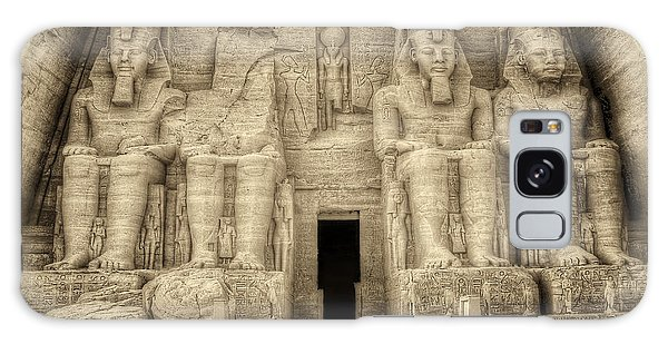 Abu Simbel Antiqued Galaxy Case