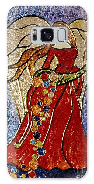 Abundance Angel Galaxy Case by AmaS Art