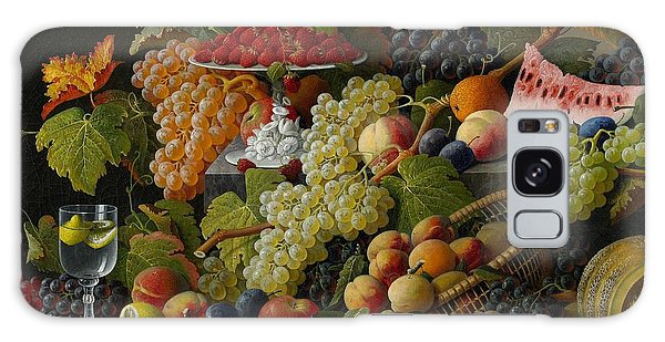Abundant Fruit Galaxy Case by Severin Roesen